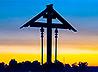 Место возведения храма святых князей Бориса и Глеба обозначил поклонный Крест