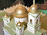 В Библиотечно-информационном центре открылась выставка макетов храмов, выполненных студентами