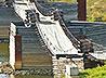 В Верхотурье восстановлен подвесной мост через реку Тура