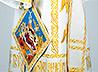 В Свято-Троицком подворье Нижнего Тагила освящены церковные облачения, сшитые учащимися городского лицея