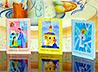 В библиотеке главы Екатеринбурга открылась выставка детской пасхальной открытки «Светлый перезвон и золото капели»