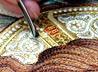 Сестры екатеринбургского монастыря к зимним праздникам готовят оригинальную вышивку