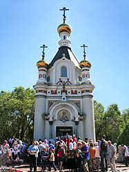 В центре Екатеринбурга прошла общегородская молитвенная акция: молебен о ниспослании дождя и панихида по погибшим в пожарах