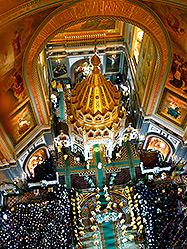 XIX Международные Рождественские образовательные чтения открылись Патриаршей Литургией в Кафедральном Соборном Храме Христа Спасителя