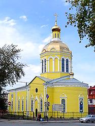 Архиепископ Викентий возглавил праздничную службу в Крестовоздвиженском монастыре уральской столицы