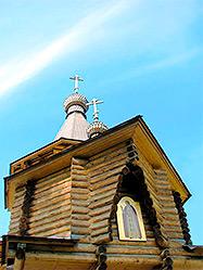 Архиерейское богослужение в честь престольного праздника состоялось в новоуральском приходе во имя Святого Серафима Саровского