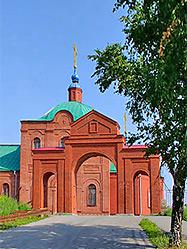 Сотни первоуральцев собрались за Архиерейским богослужением в Петро-Павловском храме, возрожденном на историческом месте