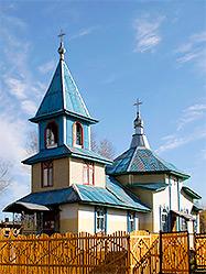 Архиепископ Викентий освятил новопостроенную церковь в поселке Пионерский Талицкого района