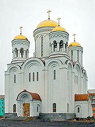 Архиерейское богослужение совершено в Преображенском соборе Серова