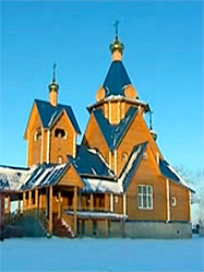 Архиепископ Викентий освятил нижний придел Казанской церкви в Зюзельском