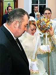 Состоялось венчание ректора УГГУ Николая Косарева и его супруги Татьяны