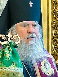 Патриарх Кирилл поздравил с 45-летием архиерейской хиротонии одного из старейших архипастырей Русской Церкви - архиепископа Мелхиседека (Лебедева)
