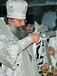 Правящий Архиерей возглавил празднование Богоявления в скиту Актай