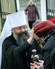 Митрополит Кирилл освятит храм в поселке Каменка