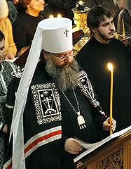 14-19 апреля митрополит Кирилл совершит в Екатеринбурге богослужения Страстной седмицы