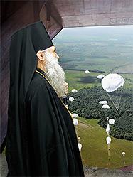 Архиепископ Викентий совершил чин освящения екатеринбургского музея воздушно-десантных войск