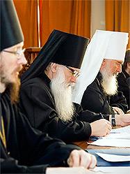 Архиепископ Викентий принял участие в заседании Издательского Совета Русской Православной Церкви