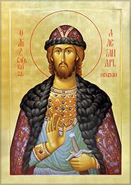 6 декабря в Екатеринбург доставят мощи благоверного князя Александра Невского