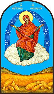 Архиерейским богослужением отметил свой престольный праздник монастырь в честь Иконы Божией Матери «Спорительница Хлебов»