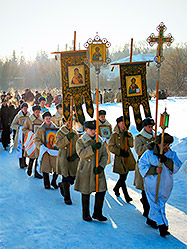 19 января в Екатеринбурге впервые после почти векового перерыва состоится Крещенский крестный ход и освящение воды городского пруда