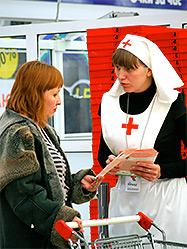 Екатеринбургская епархия и гипермаркет «Ашан» провели совместную благотворительную акцию