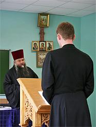 В Екатеринбургской духовной семинарии состоялась защита дипломных работ