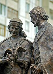 5 июля в Екатеринбурге состоится открытие памятника святым Петру и Февронии