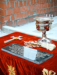 В Первоуральске заложена церковь во имя Святой Великомученицы Екатерины